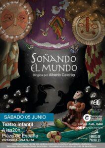 Hoy, 5 de junio, a las 20'00 h. Teatro infantil en la Plaza de España de Rafal
