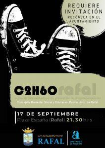 Rafal: viernes, día 17, a las 21'30h. actividad para prevenir la drogodependencia