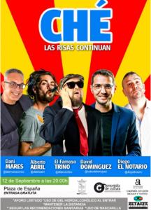 """12 de septiembre, 20'00 h.: Domingo de humor en Rafal con el """"Equipo Ché"""""""
