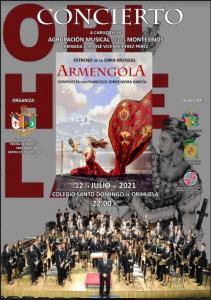 """Hoy,12 de julio, concierto en Colegio Sto. Domingo: Estreno de """"ARMENGOLA"""""""
