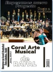 """LA CORAL """"ARTE MUSICAL"""" DE RAFAL TE INVITA A FORMAR PARTE DE ELLA"""