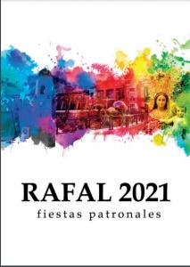 LIBRO PROGRAMA DE FIESTAS PATRONALES DE RAFAL 2021