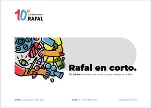 10º EDIC. FESTIVAL NACIONAL. DE CORTOMETRAJES Y AUDIOVISUAL DE RAFAL